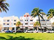 Landscape view of Miami's Ocean Drive