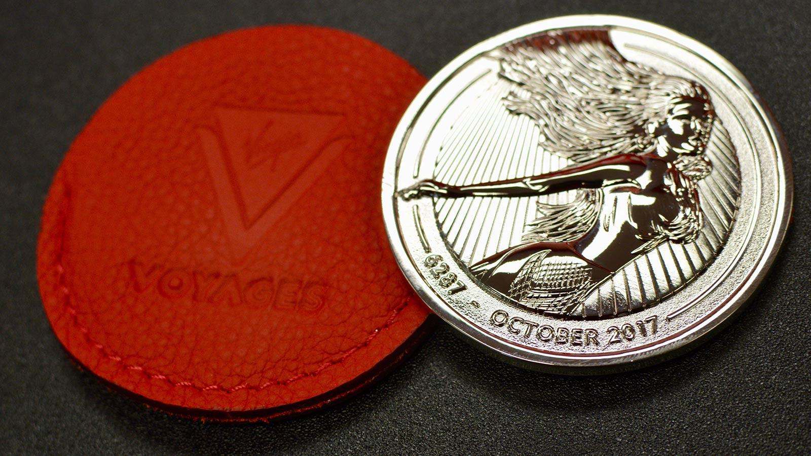 Ship keellaying coin